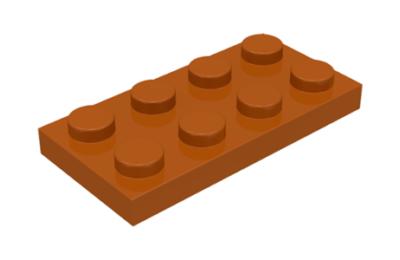 LEGO alaplap 2 x 4