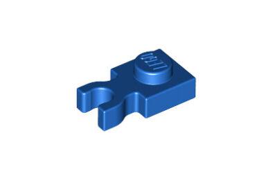 LEGO alaplap, módosított, 1 x 1 (vízszintes U csatlakozóval)