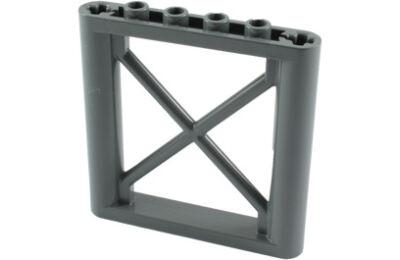 LEGO állvány 1 x 6 x 5, négyszögletű