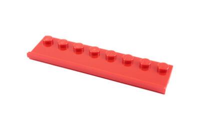LEGO alaplap, módosított, 2 x 8 ajtósínnel