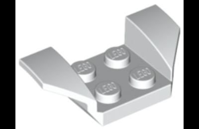 LEGO jármű, sárvédő 2 x 2 kiszélesedő szárnyakkal