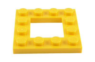 LEGO alaplap, módosított, 4 x 4, közepén 2 x 2-es kivágással