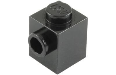 LEGO kocka, módosított, 1 x 1, oldalán 1 csatlakozóval