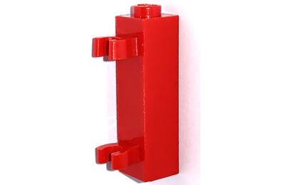 LEGO kocka, módosított, 1 x 1 x 3, 2 vízszintes csatlakozóval, típus 2