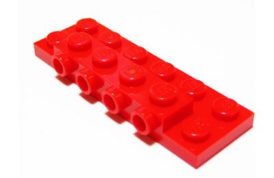 LEGO módosított alaplap 2 x 6 x 2/3, oldalán 4 csatlakozóval