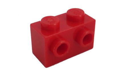 LEGO kocka, módosított, 1 x 2, 2 oldalán csatlakozókkal