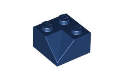 LEGO tető/lejtő 45 2 x 2 dupla homorú