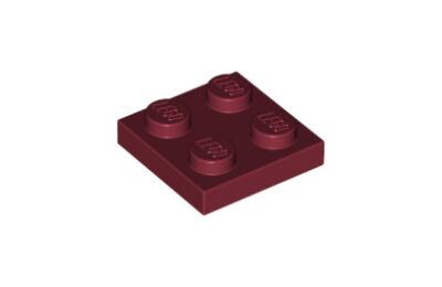 LEGO alaplap 2 x 2