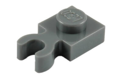 LEGO alaplap, módosított, 1 x 1 (vízszintes O csatlakozóval)