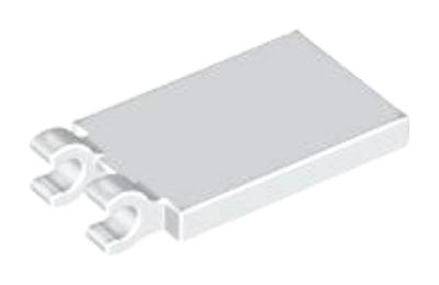 LEGO csempe, módosított, 2 x 3, 2 O csatlakozóval