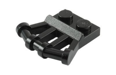 LEGO Alaplap, módosított 1 x 2 döntött fogantyúval