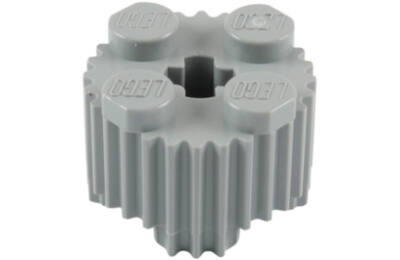 LEGO módosított kocka,  2 x 2, henger barázdákkal
