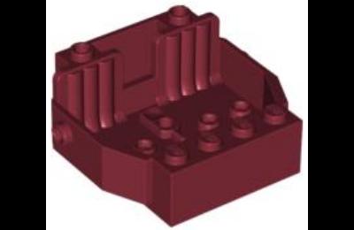 LEGO jármű alváz, 6 x 5 x 2, 2 üléses