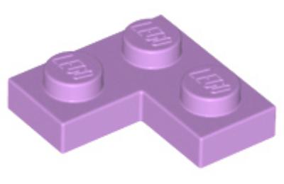 LEGO alaplap 2 x 2 sarok