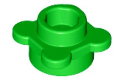LEGO alaplap 1 x 1, virág forma, 4 szirommal