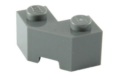 LEGO kocka, módosított, 2 x 2, fűrészfogas
