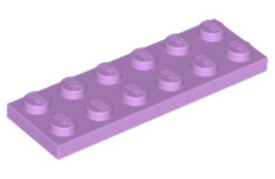 LEGO alaplap 2 x 6