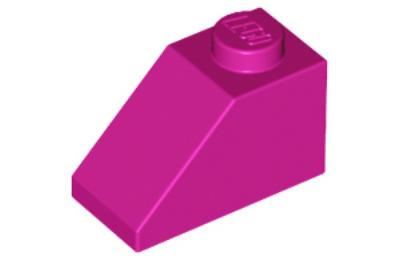 LEGO tető/lejtő 45 2 x 1