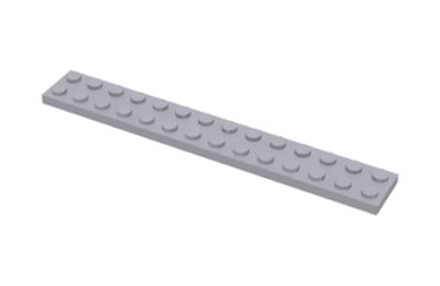 LEGO alaplap 2 x 14