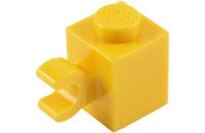 LEGO kocka, módosított, 1 x 1, függőleges csatlakozóval