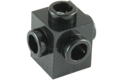 LEGO kocka, módosított, 1 x 1, 4 oldalán csatlakozókkal