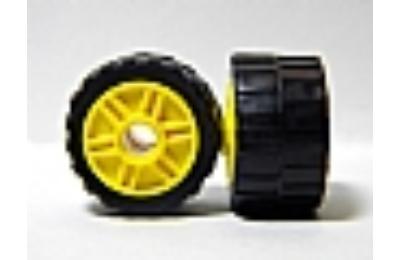 LEGO kerék, gumi és felni,  24 x 14, 18 x 14, komplett O
