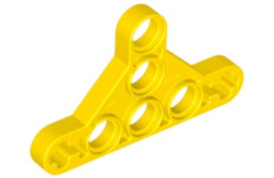 LEGO technic, mozgó kar, háromszög, vékony, típus 2