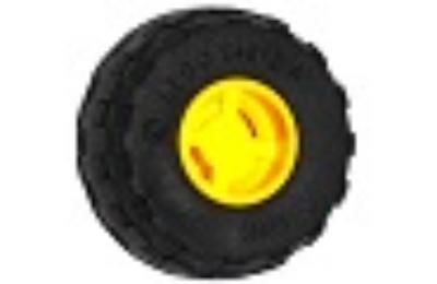LEGO kerék, gumi és felni, 24 x 12 R, 11 x 12, komplett X