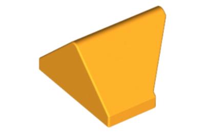 LEGO tető/lejtő 45 fokos 2 x 1, dupla - inverz