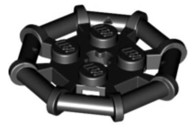 LEGO alaplap, módosított 2 x 2 nyolcszögletű