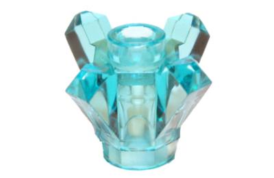 LEGO kristály, 1 x 1, 4 ágú