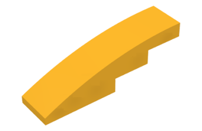 LEGO tető, íves 4 x 1