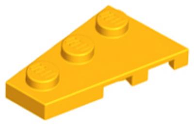 LEGO alaplap, ferde, 3 x 2 balos