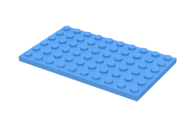 LEGO alaplap 6 x 10