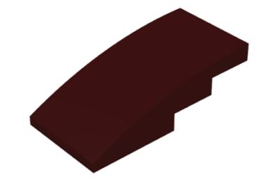 LEGO tető, íves 4 x 2