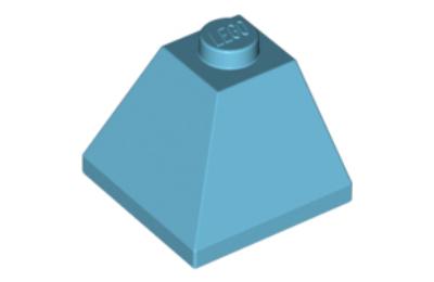 LEGO tető/lejtő 45 fokos 2 x 2, dupla domború