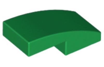 LEGO tető, íves 2 x 1