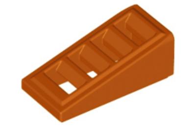 LEGO tető/lejtő, 18 2 x 1 x 2/3, rácsos
