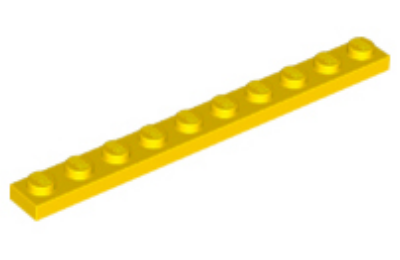 LEGO alaplap 1 x 10