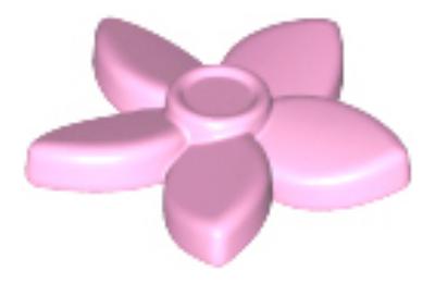 LEGO virág, haj dekoráció, típus 3