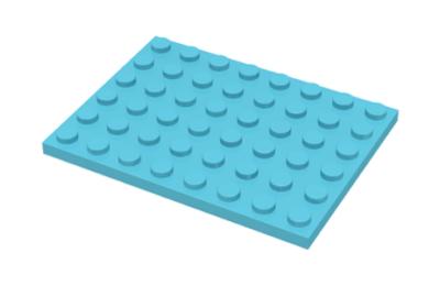 LEGO alaplap 6 x 8