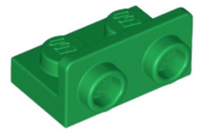 LEGO konzol 1 x 2 - 1 x 2 inverz