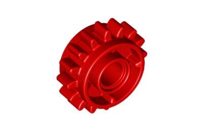LEGO technic, fogaskerék, 16 foggal, tengelycsatlakozóval