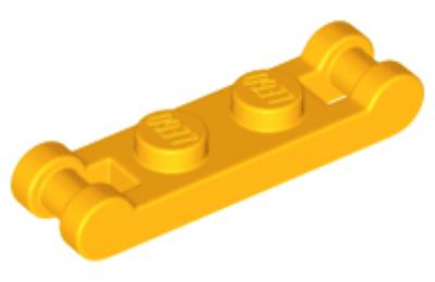 LEGO alaplap, módosított, 1 x 2 2 füllel a végein