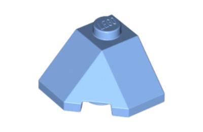 LEGO tető/lejtő 45 fokos 2 x 2, sarok