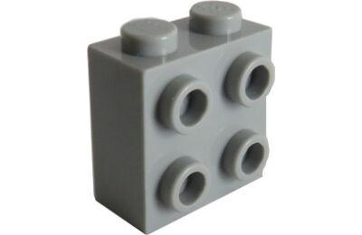 LEGO kocka, módosított, 1 x 2 x 1 2/3, oldalán 4 tartóval