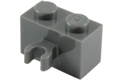 LEGO kocka, módosított, 1 x 2, vízszintes O csatlakozóval