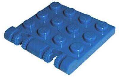 LEGO zsanér 3 x 4, 2 dupla  karral