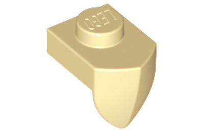 LEGO alaplap, módosított, 1 x 1  1 függőleges foggal