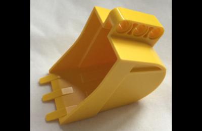 LEGO jármű, markolókanál 4 x 7 (technic)